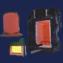 Furnaces for heat-treatment and enameling