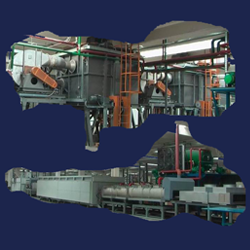 Special furnaces produced according to the customers demands